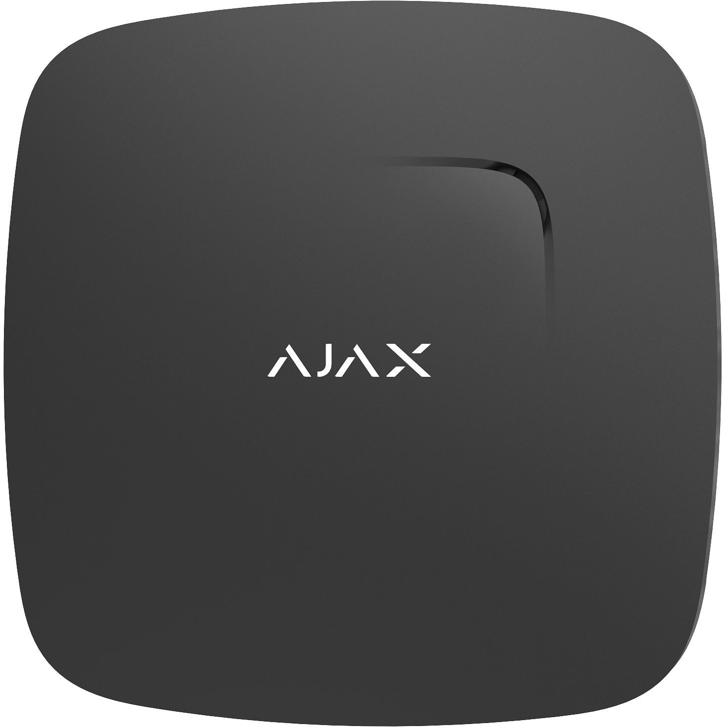 Bezprzewodowy czujnik dymu i temperatury FireProtect AJAX kolor czarny