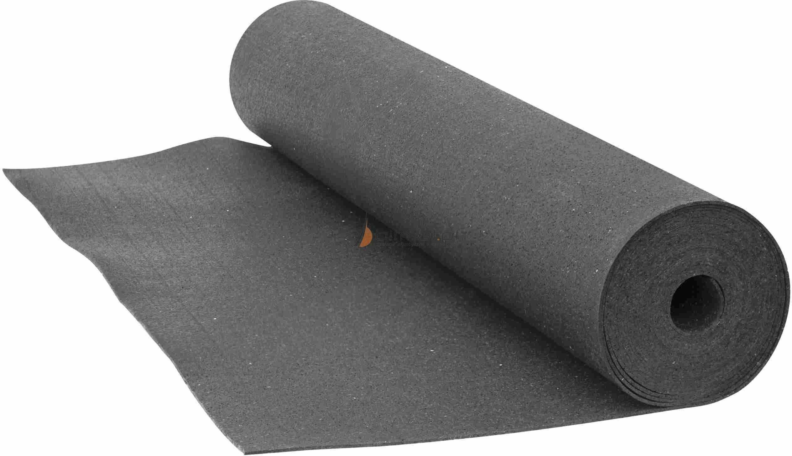 Guma 3mm 5mm antywibracyjna strop ściana podłoga