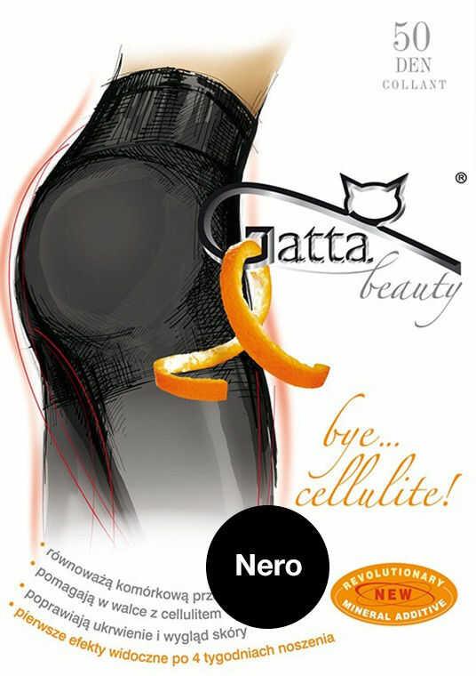 Gatta Bye Cellulit 50 - Slimming Tights Nero Black