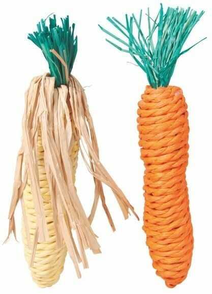 TRIXIE - TX 6192 marchewka kukurydza sizal 15cm