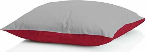 """MB HOME BASIC 2 poduszki zimowe""""Iceland"""", bordowe/jasnoszare, 50 x 80 cm"""
