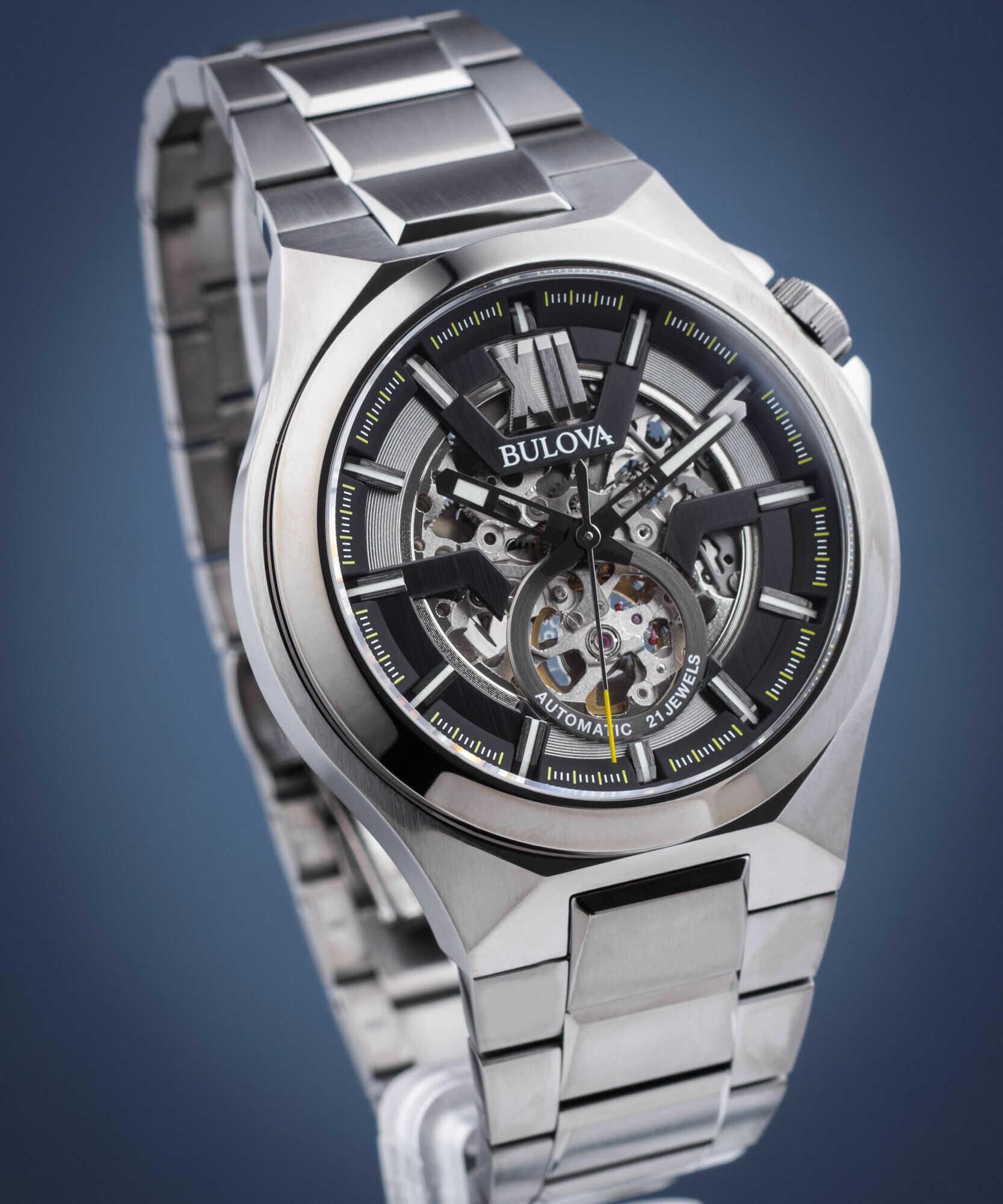 Zegarek męski Bulova Classic Skeleton Automatic