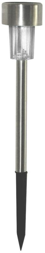 Lampa wbijana solarna Beacon IP44 30 cm srebrny