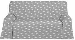 Martina Home narzuta polarowa, uniwersalna, tkanina, szara, 180 x 130 x 3 cm