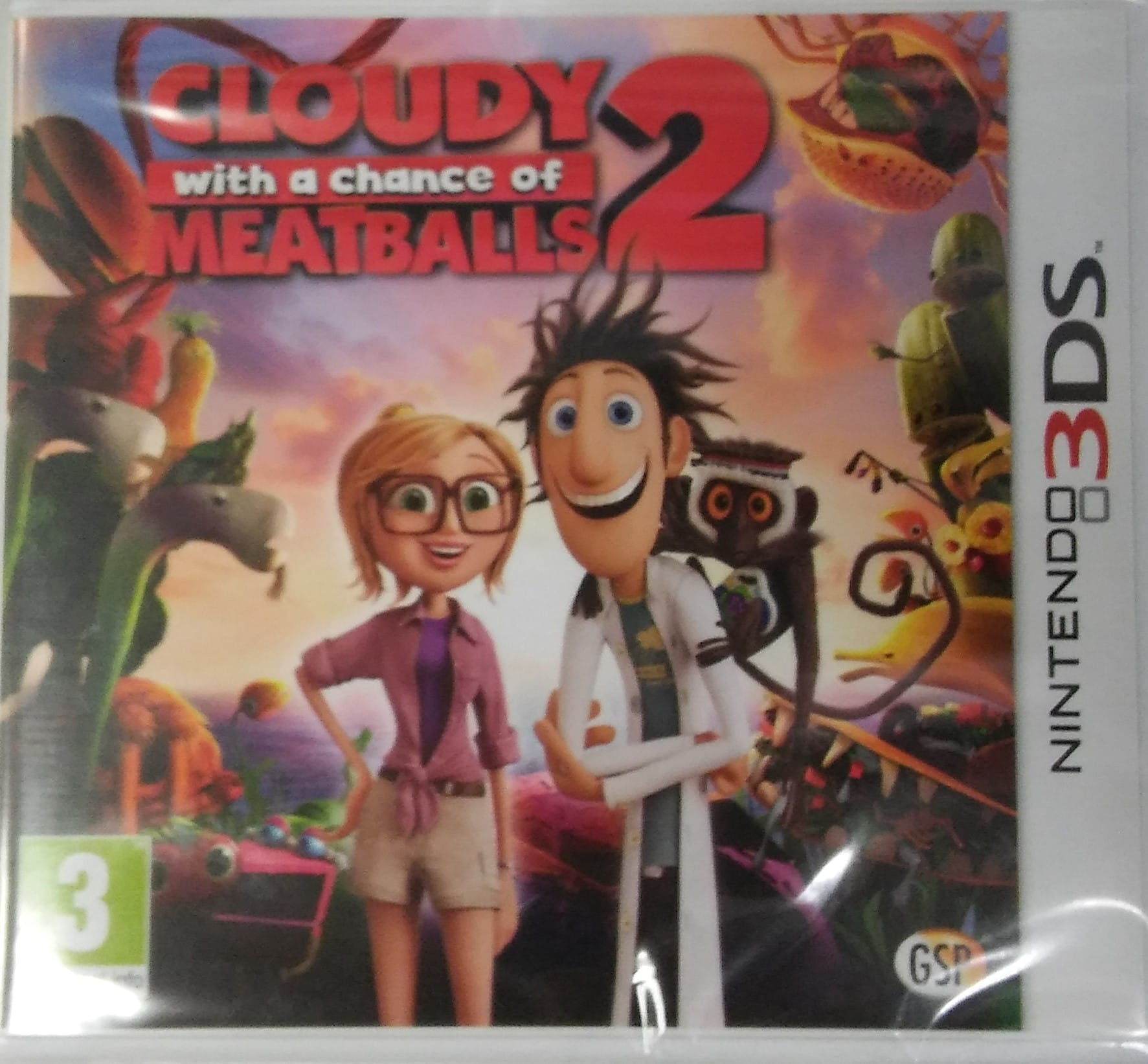 Gra Cloudy with a chance of Meatballs 2 (3DS)