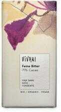 Czekolada gorzka 71% kakao BIO 100g Vivani