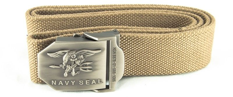 Pasek Texar do spodni Navy Seal Sand (368#10-BLNS-AC) TX