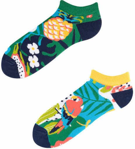 Stopki, Papaya Low, Todo Socks, Papuga, Ananas, Liczi, Kolorowe