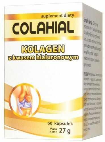 Colahial kolagen z kwasem hialuronowym 60 kapsułek