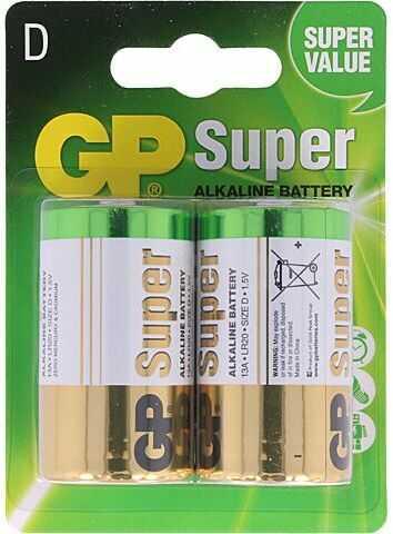 Bateria alkaliczna GP 1,5V D 2szt.