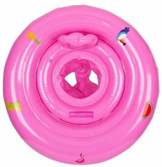 The Swim Essentials - The Swim Essentials Kółko Treningowe Dla Dzieci Różowe 2020se23