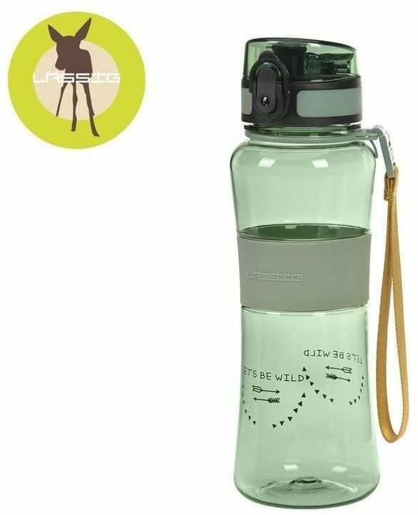 Lassig butelka do picia ze sportowym ustnikiem adventure boys, 3+