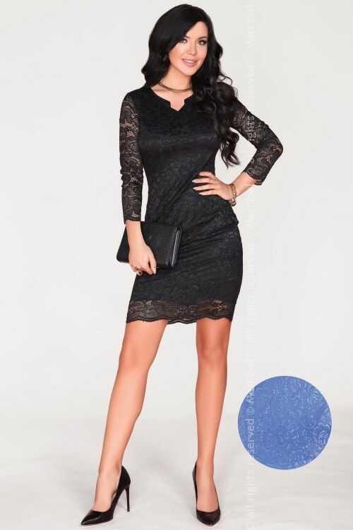 Merribel 10391D Blue sukienka