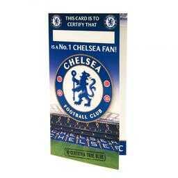 Chelsea Londyn - kartka urodzinowa