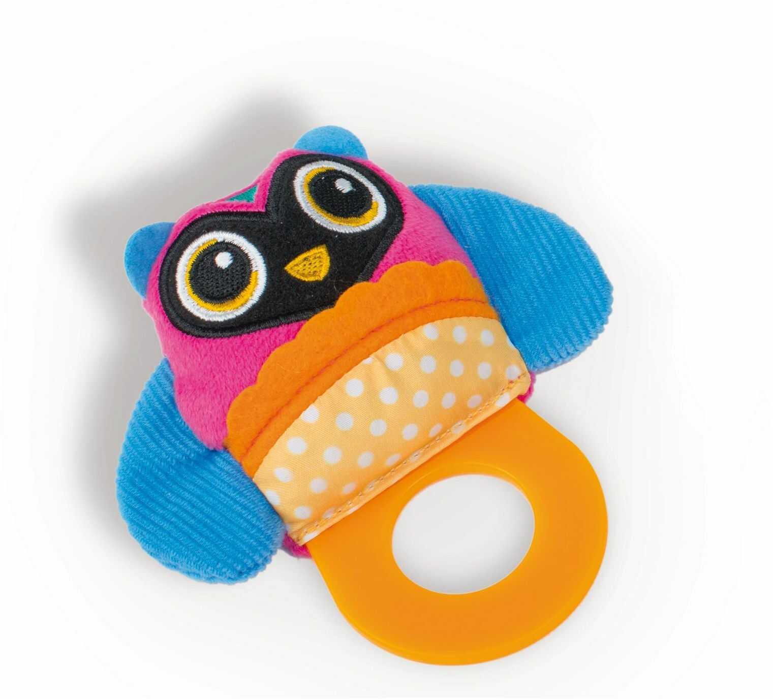 OOPS Łatwe miękkie zabawki kolekcja łatwe gryzak sowa ząbkowanie zabawka
