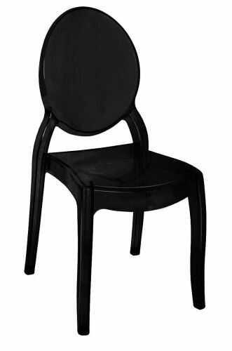 Krzesło Elizabeth czarne
