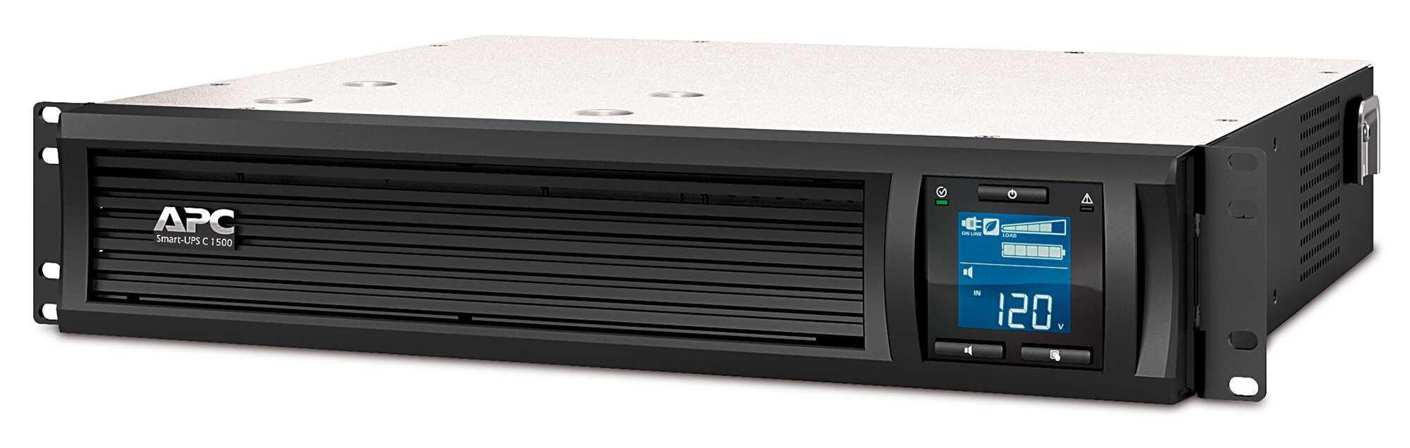 APC Smart-UPS C 1500VA LCD RM 2U 230V with SmartConnect