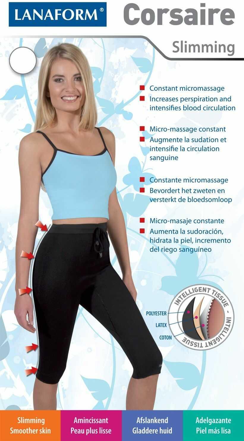Spodnie wyszczuplajace Lanaform Corsaire