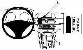ProClip do BMW X6 09-14