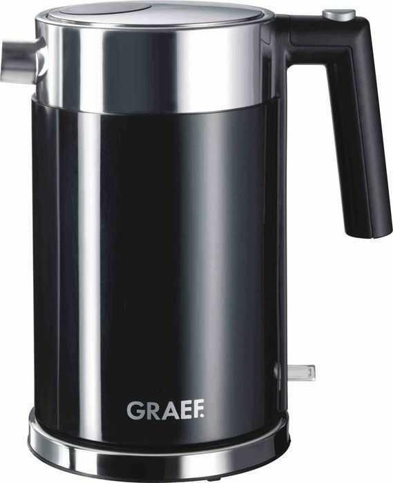 Czajnik GRAEF WK 62 czarny I tel. (22) 266 82 20 I Raty 0 % I Bezpieczne zakupy I Płatności online !