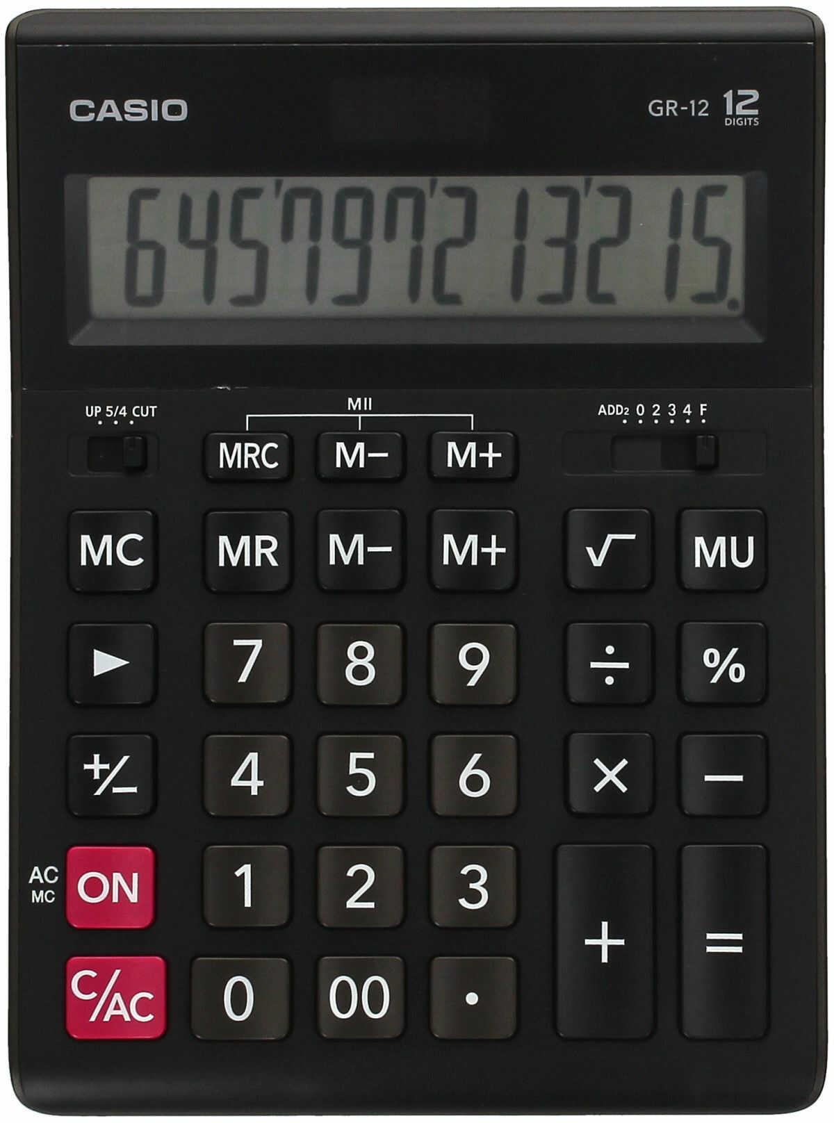 Kalkulator 12pozycyjny GR12 Casio