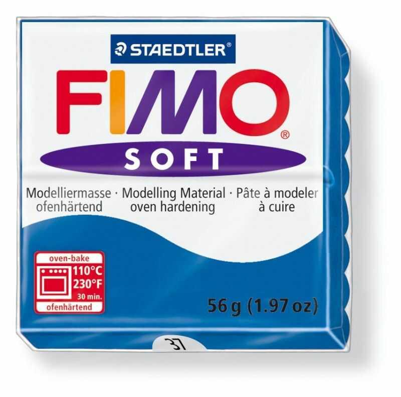 Masa termoutwardzalna FIMO SOFT 57g 809492 809577, Kolor masy: Morska