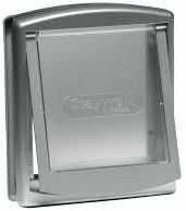 Drzwiczki Staywell 737, srebrne (S)