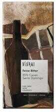 Czekolada gorzka 85% kakao BIO 100 g Vivani