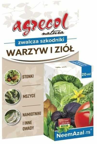 Środek ochrony roślin Agrecol Neemazal T/S 20 ml