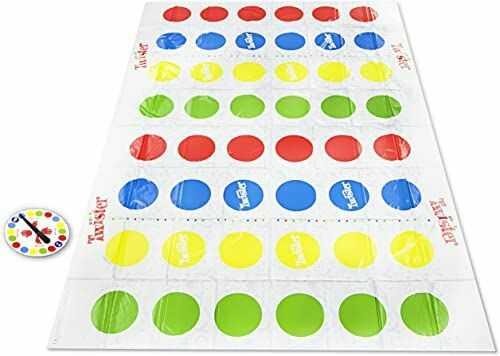 Twister Ultimate z większą matą i większą liczbą pól kolorystycznych, zabawka dla rodzin i dzieci od 6 lat, kompatybilna z Alexa (ekskluzywną tylko w Amazon)