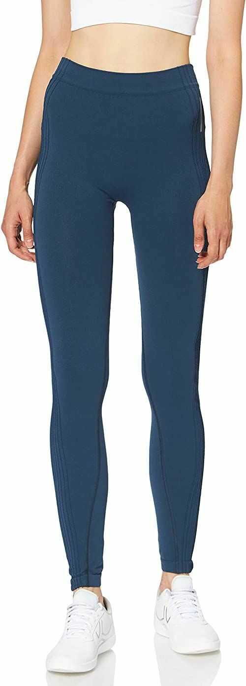 Odlo damskie legginsy PURE CERAMIWARM, blue wing teal, XS