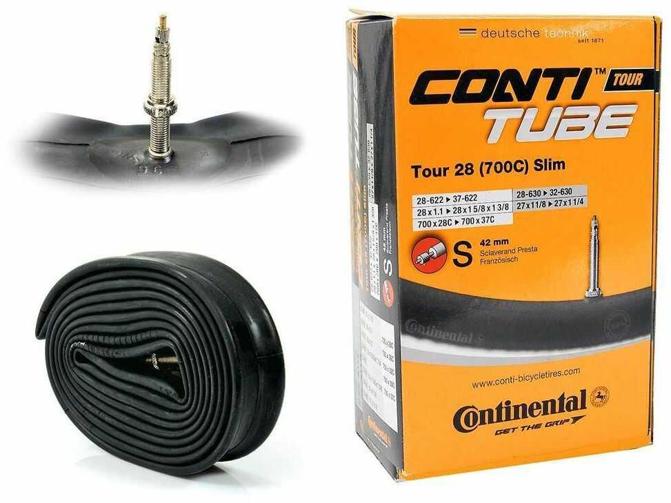 "Dętka Continental Tour 26'' oraz 27,5"" x 1,4'' - 1,75'' wentyl dunlop 40 mm"