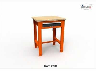 Stół narzędziowy SWT 07/02 ''JEDYNKA'' warsztat metalowy na klucz