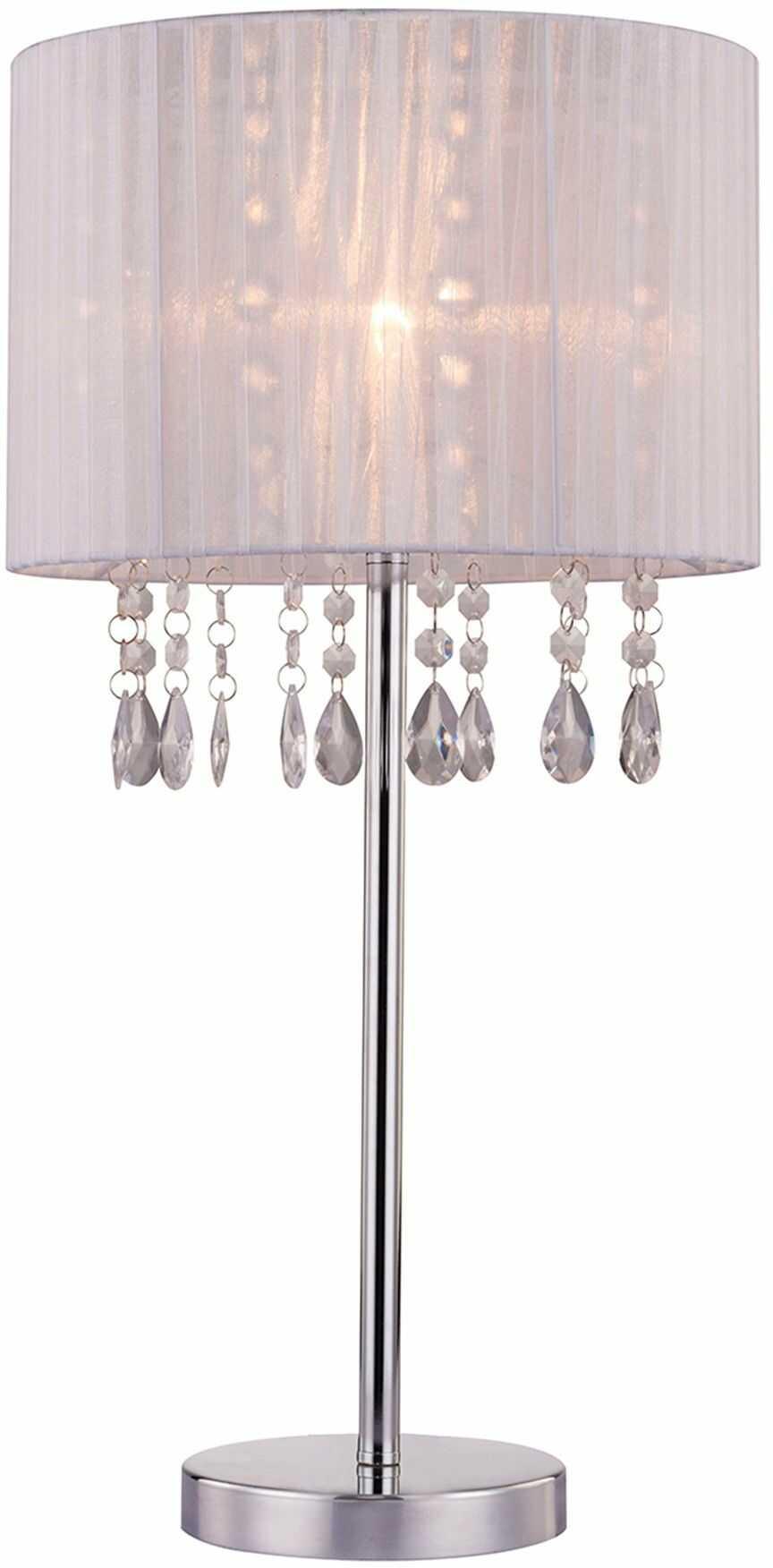 Lampka stołowa Leta biała RLT93350-1A - Zuma Line Do -17% rabatu w koszyku i darmowa dostawa od 299zł !