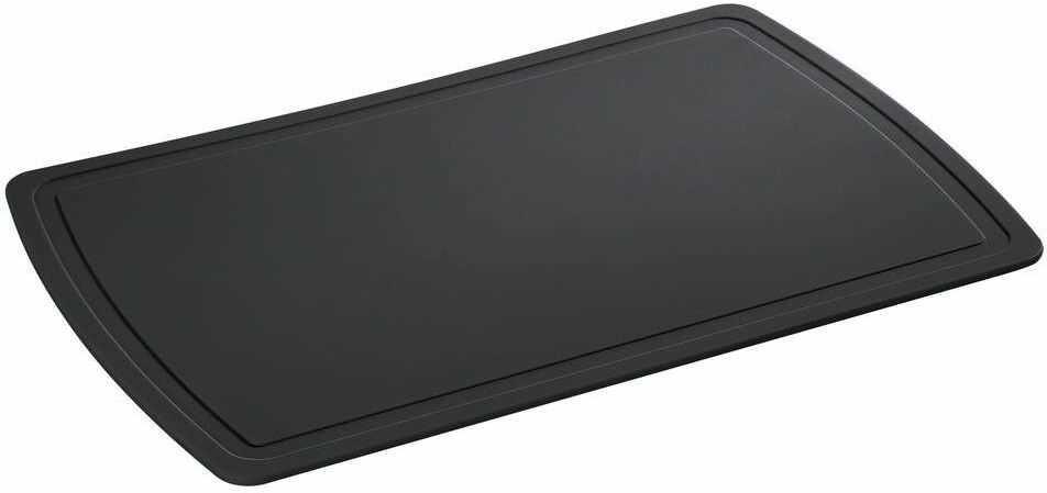 Zassenhaus - easy cut plus - deska do krojenia, 38,00 cm, czarna