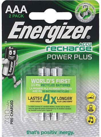 Akumulator Ni-MH ENERGIZER AAA/R3 1,2V 700mAh 2szt.