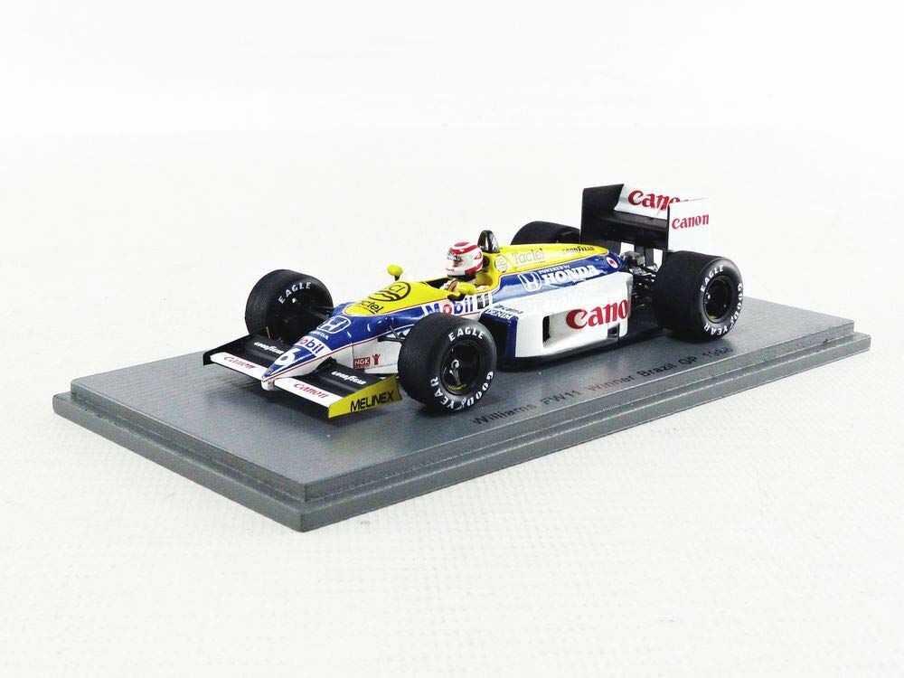 Spark S7480 miniaturowy model z kolekcji, żółty/biały/niebieski