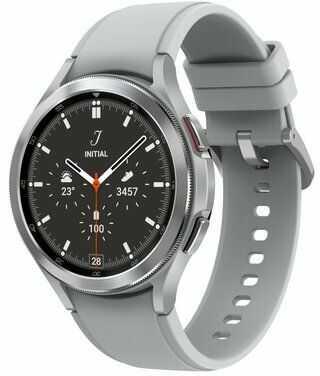Smartwatch SAMSUNG Galaxy Watch 4 Classic LTE 46mm Srebrny SM-R895FZSAEUE. > DARMOWA DOSTAWA ODBIÓR W 29 MIN DOGODNE RATY