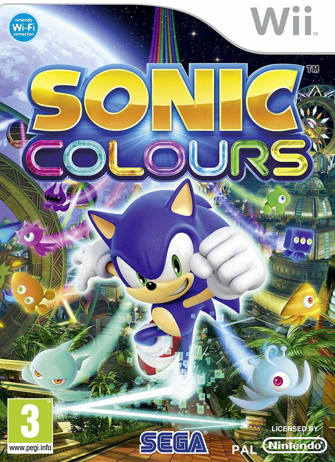 Gra Sonic Colours (Nintendo Wii)