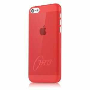 (EOL) ItSkins Zero 360 Etui Obudowa iPhone 5C (Red)