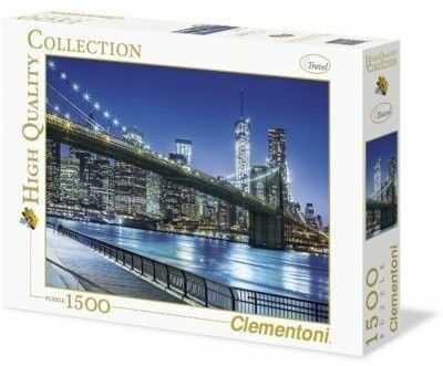 Puzzle Clementoni 2000 - HQ - New York