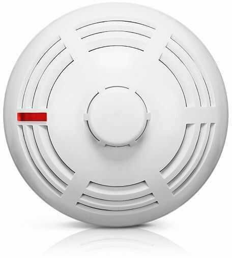Bezprzewodowy czujnik dymu i temperatury ASD-200 SATEL