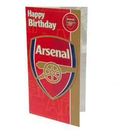 Arsenal Londyn - kartka urodzinowa