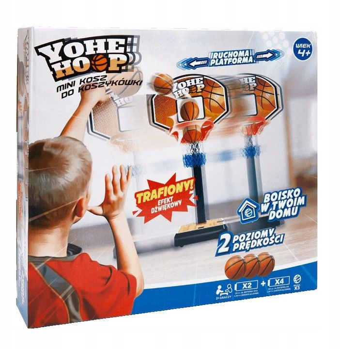 Zabawka Yoheha Mini kosz do koszykówki