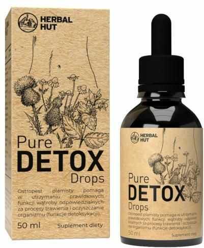 Noble Health Pure Detox Drops krople na trawienie 50 ml