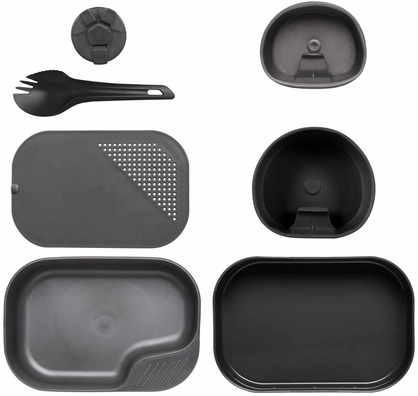 Zestaw turystyczny Wildo Camp-A-Box Complete Black/Dark Grey (SE-CAB-PP-0119A) H