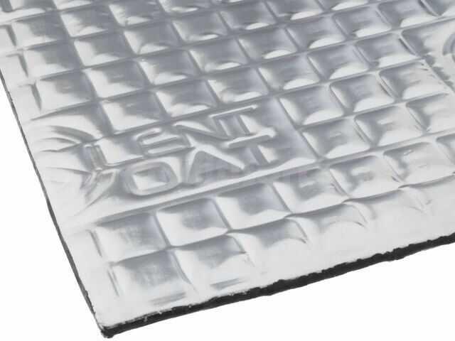 Mata tłumiąca SILENT COAT extra folia aluminiowa, guma butylowa