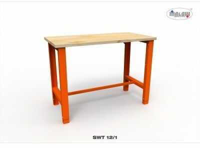 """Stół narzędziowy SWT 12/01 """"DWÓJKA"""" warsztat metalowy na klucz"""