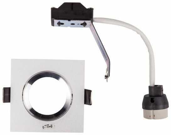 Oprawa punktowa 1x50W GU10 IP20 TESON AL-DTL50 kwadrat aluminium 07371