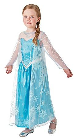 Rubie''s 3630034 Elsa Frozen Deluxe, odzież sportowa i akcesoria, M